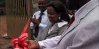 Ethiopian woman revolutionizes country's financial system