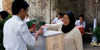 Indonesia heads to polls, clinging to newfound stability