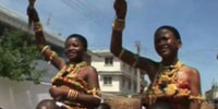 Tribal king in Ghana embraces future while preserving past