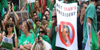 Walkouts inside, protests outside for Ahmadinejad at U.N.