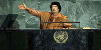 Qaddafi: A madman, or just desperate for attention?