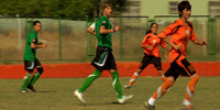 Female soccer players shoot down Turkish taboos