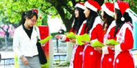 Chinese matchmakers send Santarinas to find college girls